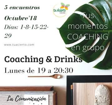 SESIÓN: COACHING & DRINKS. LA COMUNICACIÓN-OCTU...