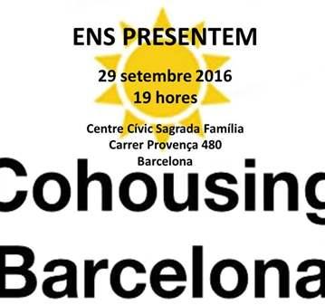 JORNADA: COHABITATGE BARCELONA, ENS PRESENTEM