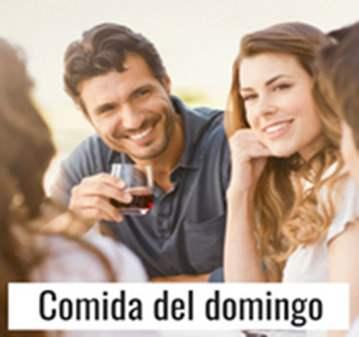 QUEDADA: COMIDA DE LOS DOMINGOS EN TOMA JAMÓN
