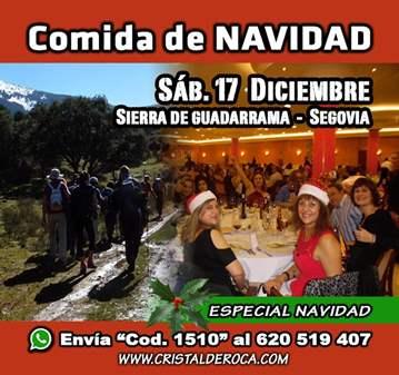 EXCURSIÓN: COMIDA DE NAVIDAD - RUTA SEGOVIANA