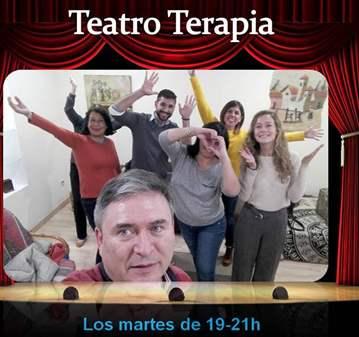 TERAPIA: COMIENZO DEL GRUPO DE  TEATRO TERAPIA,
