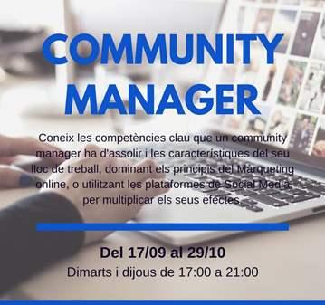 CURSO: COMMUNITY MANAGER - 100% SUBVENCIONADO