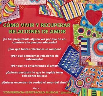 CONFERENCIA: COMO VIVIR Y RECUPERAR RELACIONES ...