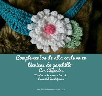 CHARLA: COMPLEMENTOS DE ALTA COSTURA  CON GANCH...