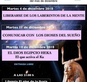 CONFERENCIA: COMUNICAR CON LOS DIOSES DEL SUEÑO
