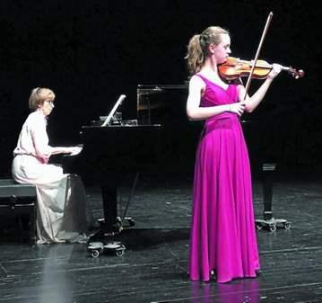 CONCIERTO DE VIOLIN Y PIANO DE GRANDES AUTORES