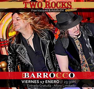 EVENTO: CONCIERTO DE TWO ROCKS EN VIGO
