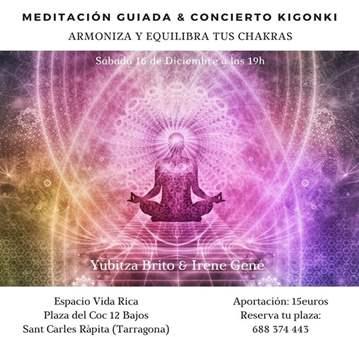 MEDITACIÓN GUIADA & CONCIERTO DE KIGONKI