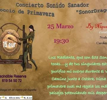 CONCIERTO SANADOR EQUINOCCIO PRIMAVERA