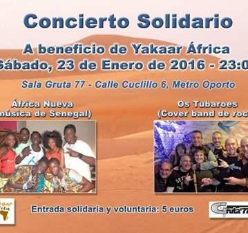 CONCIERTO SOLIDARIO DE LA ONG YAKAARAFRICA.COM
