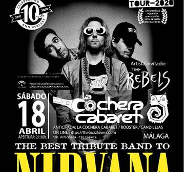 CONCIERTO TRIBUTO NIRVANA POR THE BUZZ LOVERS