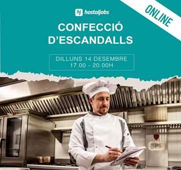 TALLER: CONFECCIÓ D'ESCANDALLS ONLINE