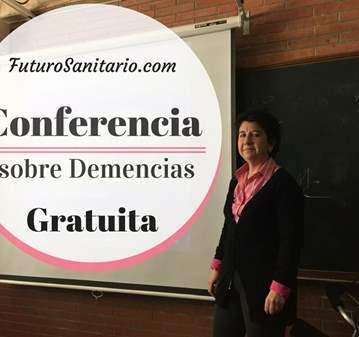 CONFERENCIA GRATUITA SOBRE DEMENCIAS.