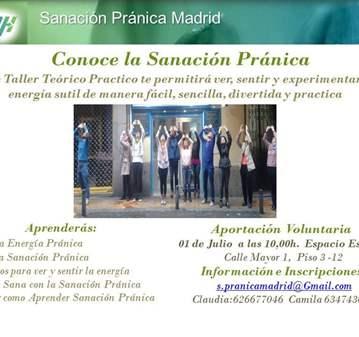TALLER: CONOCE LA SANACIÓN PRÁNICA