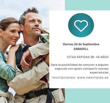 CONOCE SOLTERAS- SPEED DATING SABADELL 38-48 AÑOS