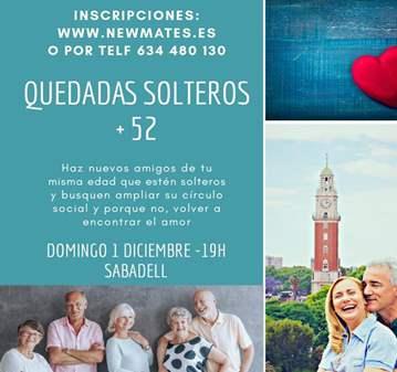 CONOCER GENTE SOLTERA DE MAS DE 52 SABADELL