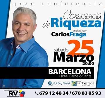 CONFERENCIA: CONSCIENCIA DE RIQUEZA