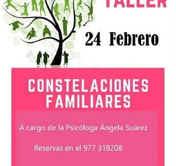 TALLER: CONSTELACIÓN FAMILIAR/PSICÓLOGA ANGELA ...
