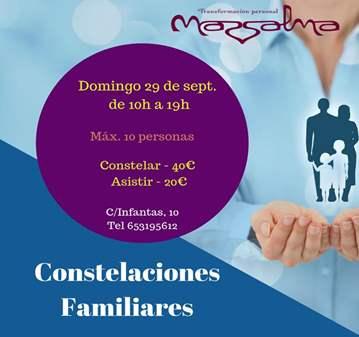 JORNADA: CONSTELACIONES FAMILIARES