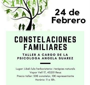 TALLER: CONSTELACIONES FAMILIARES A CARGO DE AN...