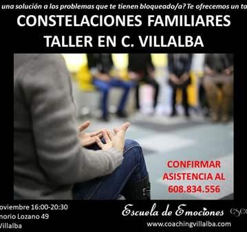 TALLER: CONSTELACIONES FAMILIARES Y SISTÉMICAS