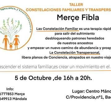 TALLER: CONSTELACIONES FAMILIARES Y TRANSPERSON...