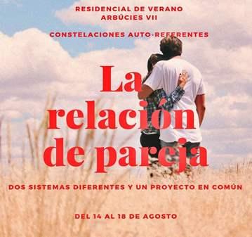 TALLER: RESIDENCIAL LA RELACIÓN DE PAREJA