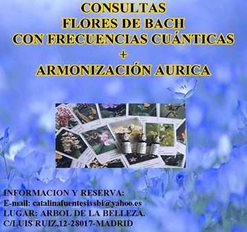 JORNADA: CONSULTAS FLORES DE BACH CON FRECUENCI...