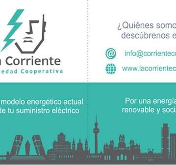 CONFERENCIA: COOPERATIVA ENERGÉTICA LA CORRIENTE