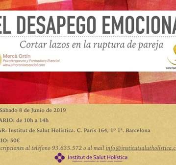 TALLER: EL DESAPEGO EMOCIONAL