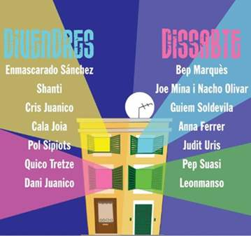 TOTS A CA TEUA FESTIVAL ONLINE GRATIS 20/03-21/03