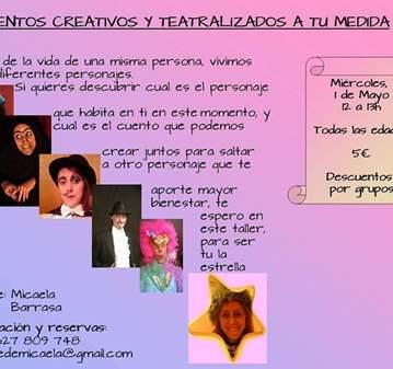 CUENTOS CREATIVOS/TEATRALIZADOS A TU MEDIDA