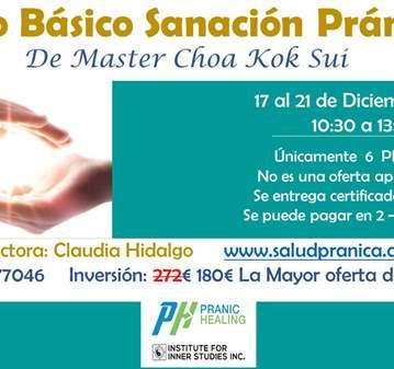 OFERTA: CURSO BÁSICO SANACIÓN PRÁNICA