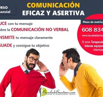 CHARLA: CURSO COMUNICACIÓN EFECTIVA ASERTIVA - ...