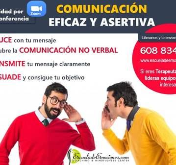 VIDEOCONFERENCIA COMUNICACIÓN EFECTIVA ASERTIVA