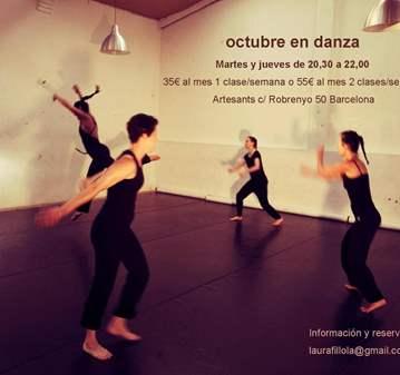 CURSO DANZA CONTEMPORANEA EN ARTESANTS