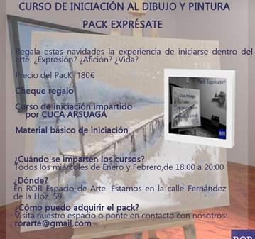 CURSO DE INTRODUCIÓN AL DIBUJO Y LA PINTURA