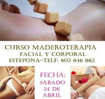 CURSO DE MADEROTERAPIA EN ESTEPONA