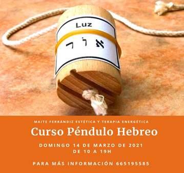 CURSO DE PÉNDULO HEBREO 14/03/2021