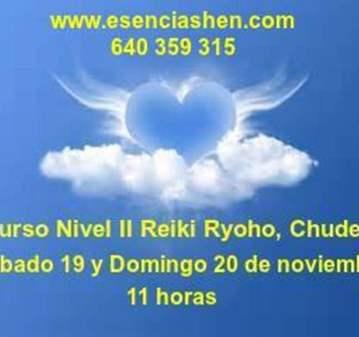 CURSO DE REIKI, NIVEL II, CHUDEN