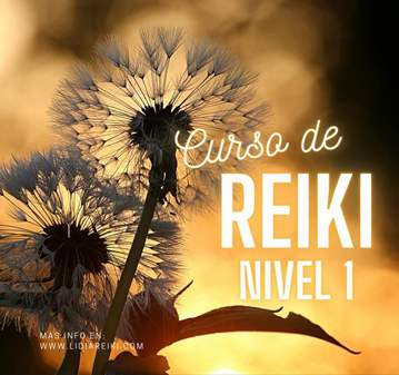 CURSO DE REIKI - PRIMER NIVEL