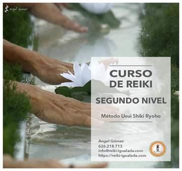 CURSO DE REIKI SEGUNDO NIVEL