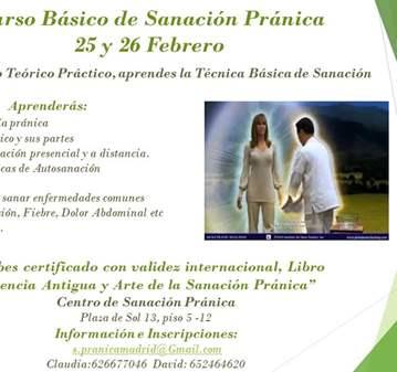 CURSO DE SANACIÓN PRÁNICA BÁSICO