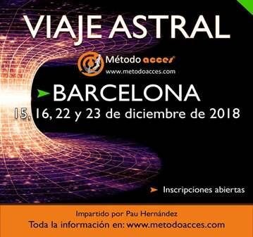 CURSO EN BARCELONA VIAJE ASTRAL