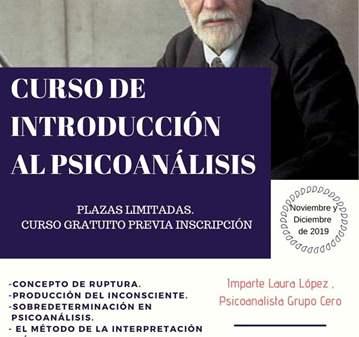 CURSO GRATUITO DE INTRODUCCIÓN AL PSICOANÁLISIS