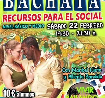 CLASE: CURSO INTENSIVO BACHATA RECURSOS PARA EL...