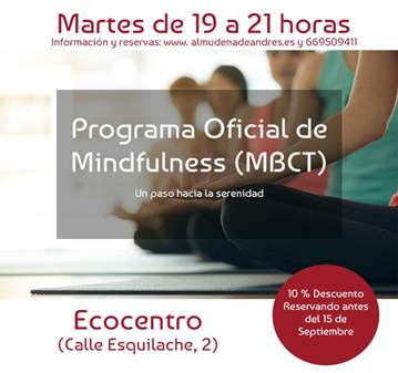 CURSO OFICIAL DE MINDFULNESS. ECOCENTRO