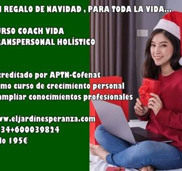 CURSO ON LINE COACH  VIDA COMO REGALO DE REYES