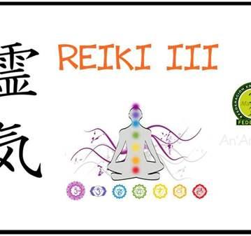 CURSO REIKI III - ONLINE - (TERCER NIVEL)