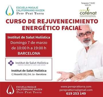CURSO REJUVENECIMIENTO ENERGÉTICO FACELIFT